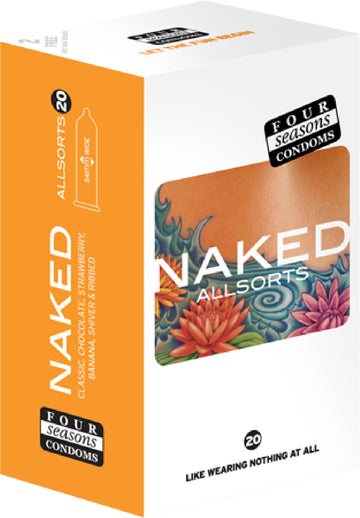 Naked Allsorts 20's - Four Seasons - Health & Hygiene - purpleboxau