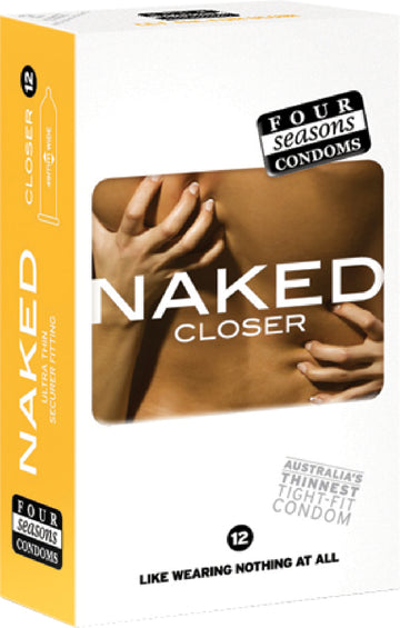 Naked Closer Fit 12's - Four Seasons - Health & Hygiene - purpleboxau