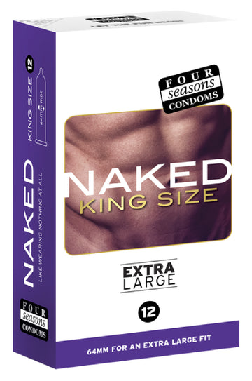 Naked King Size 12's - Four Seasons - Health & Hygiene - purpleboxau