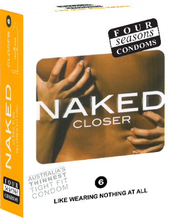 Naked Closer 6's - Four Seasons - Health & Hygiene - purpleboxau