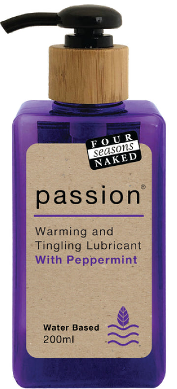 Passion Lubricant 200ml - Four Seasons - Lubricants & Massage - purpleboxau