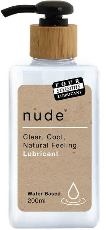 Nude Lubricant 200ml - Four Seasons - Lubricants & Massage - purpleboxau