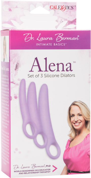 Alena Set Of 3 Silicone Dilators - The Purple Drawer