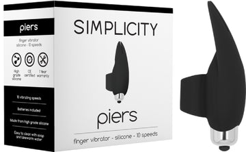 PIERS Finger Vibrator - The Purple Drawer