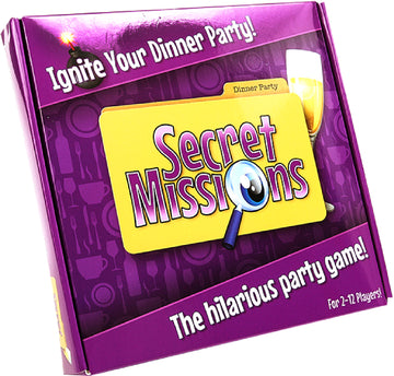 Secret Missions Dinner Party - The Purple Drawer