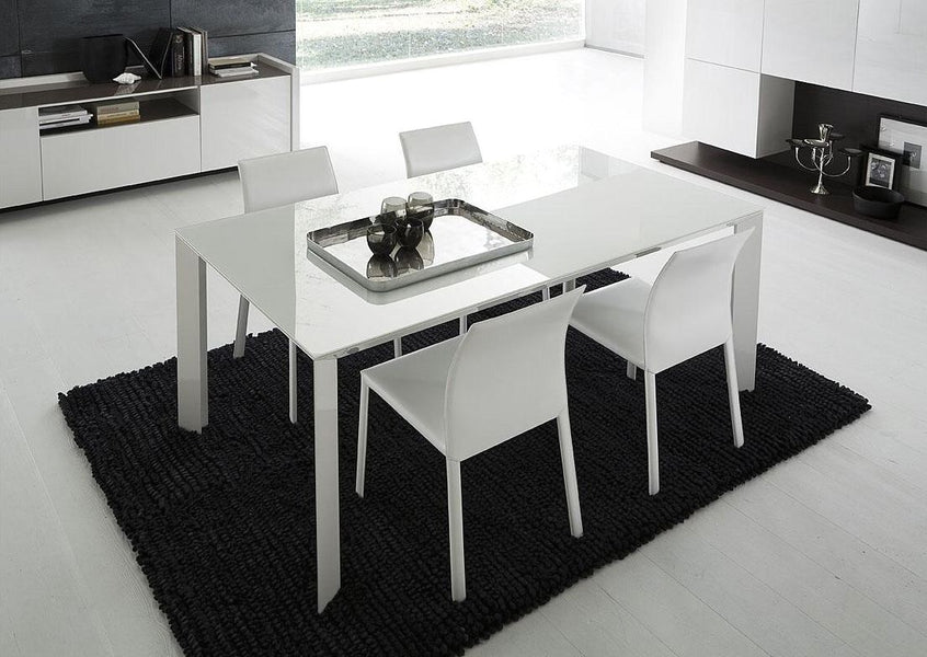 Archaikomely White Top Dining Table
