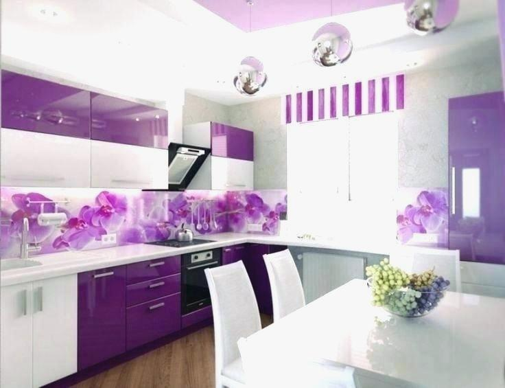 Tempting Purple Kitchen Decor