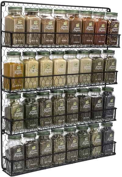 10 Best Wall Mount Spice Rack Review