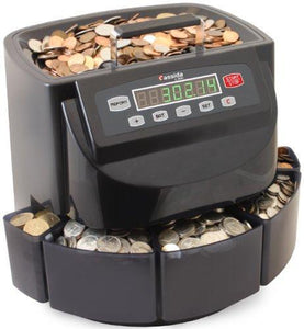 Storage cassida c200 coin sorter counter and roller