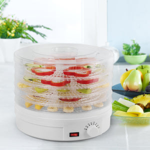 Home westinghouse food dehydrator beef jerky maker food preservation device food dehydration machine dried fruits and vegetables maker countertop small kitchen appliance wfd101w white