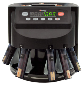 Shop cassida c200 coin sorter counter and roller