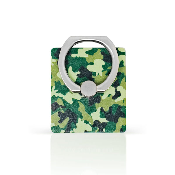 iGripz phone ring iphone smart phone tablet accessories green camo pattern high quality metallic