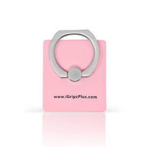 iGripz phone ring iphone smart phone tablet accessories pink baby pink light pink powder pink high quality metallic