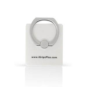 iGripz phone ring iphone smart phone tablet accessories white matte milky high quality metallic