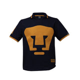 Playera Polo Retro 1980 Pumas Azul