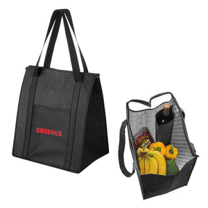 Insulated Tote Bag with Wine Insert