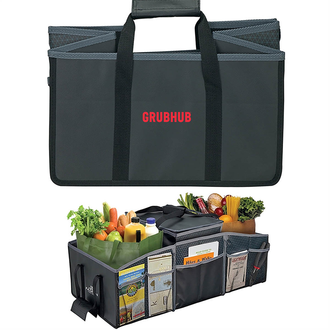 XL Trunk Organizer with Foil-Lined Cooler