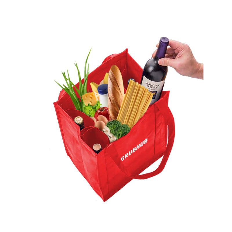 4 Bottle Non-Woven Wine Tote Bag