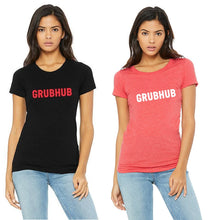 Load image into Gallery viewer, Grubhub Women's T-shirts