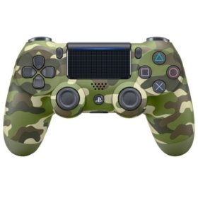 DualShock 4 Wireless PS4 Controller - Green Camouflage