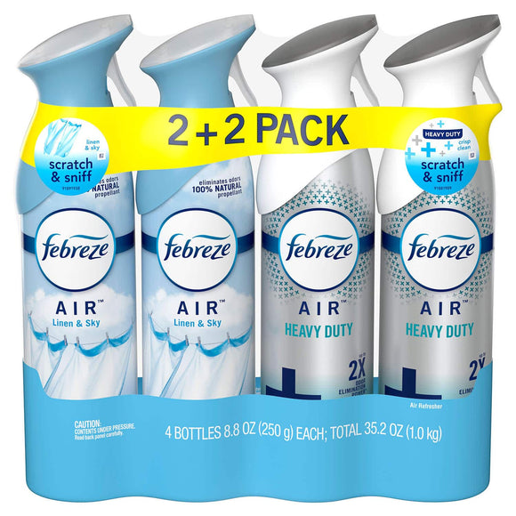 Febreze Car Air Freshener (various scents)