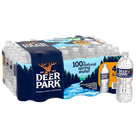 Deer Park 100% Natural Spring Water (16.9oz / 40pk)