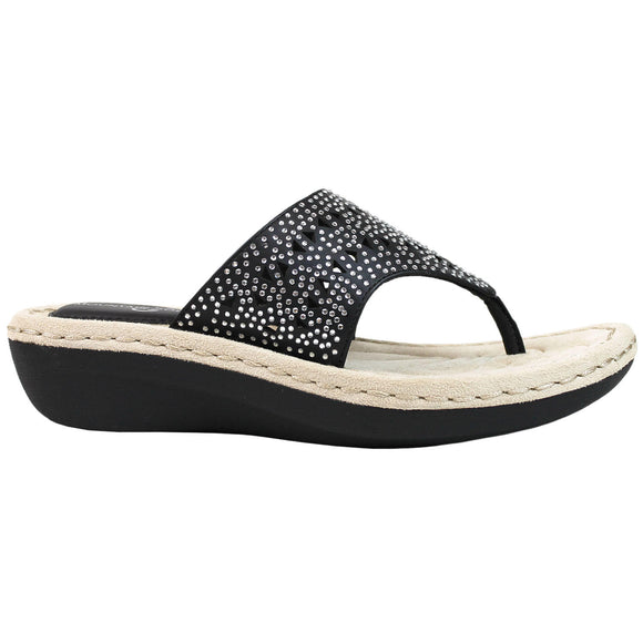 Mountain Sole Bling Wedge Sandal