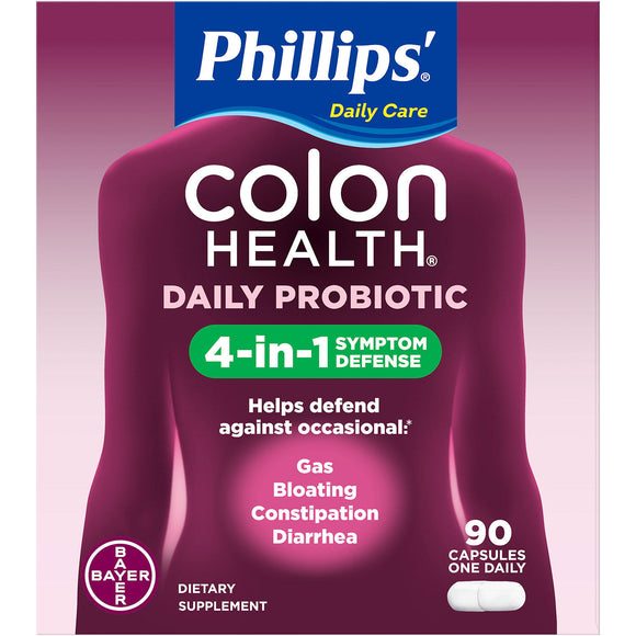 Phillips' Colon Health Probiotic Supplement (90 ct.)