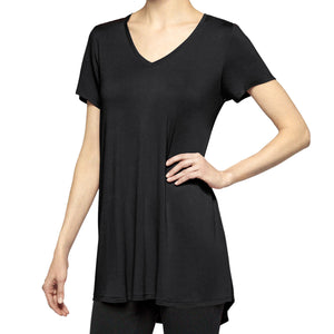 Hue Short-Sleeve Legging Tee