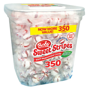 Bobs Sweet Stripes Soft Peppermints (61.73 oz., 350 ct.)