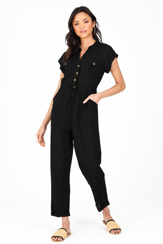 Pico Jumpsuit | black