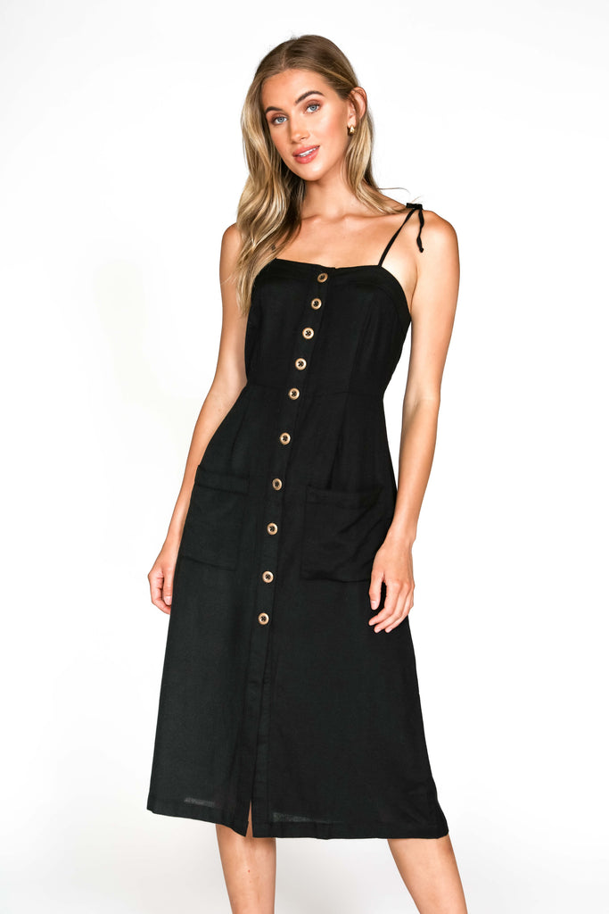 Arroyo Dress | vo-black