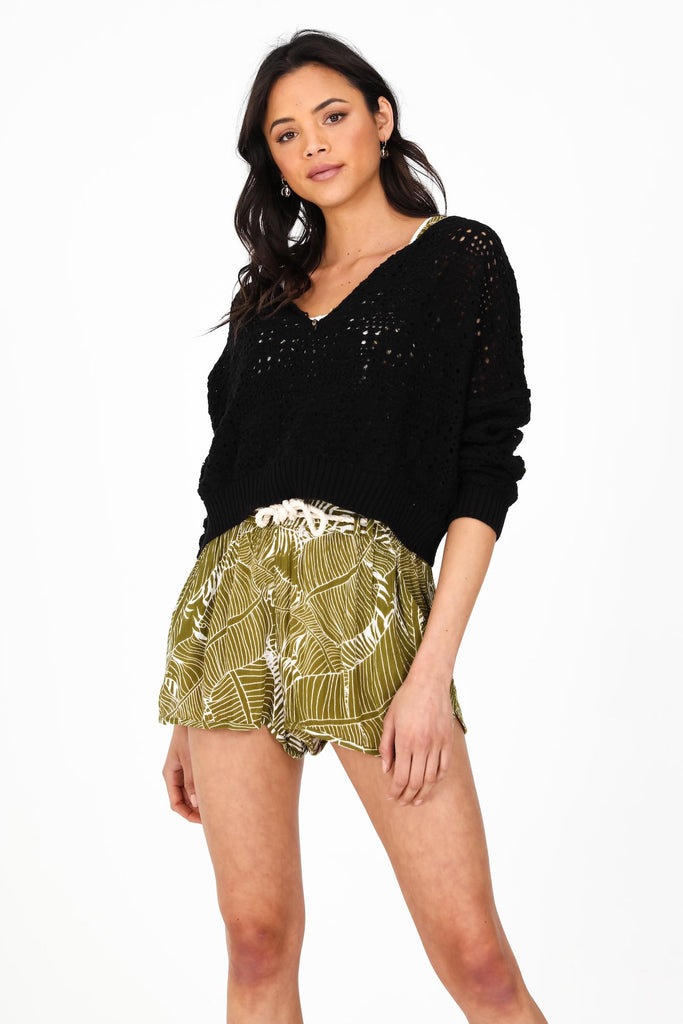 Willow Sweater | black