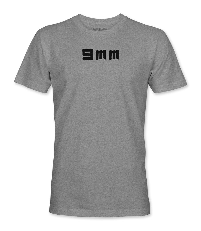 9mm Tee - Heather Grey