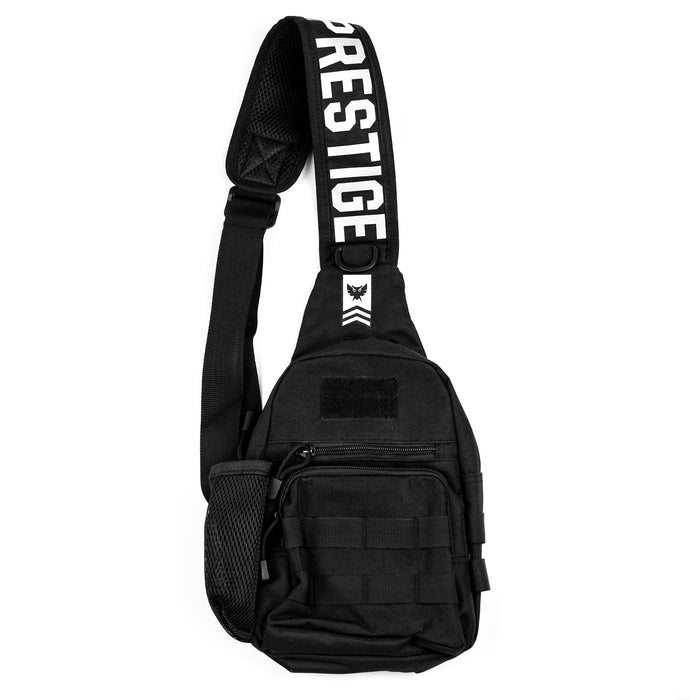 Shoulder Bag - Black/White