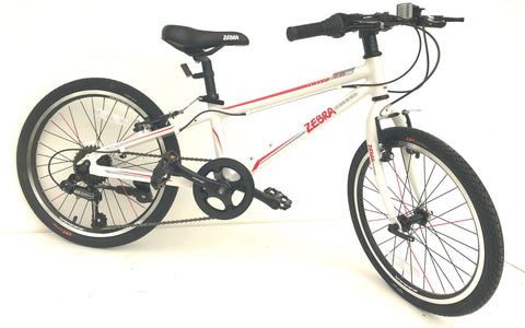 "KIDS LIGHT WEIGHT BIKE ALLOY FRAME 20"" WHEELS 7 SHIMANO GEARS"