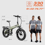 Paselec PX6 Electric Folding Bike 20″ 8 Speed Gears up to 100miles UK black