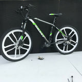 26 inch Magnesium Alloy Mountain Bike Wheels 8 speed Cassette WITH TYRES