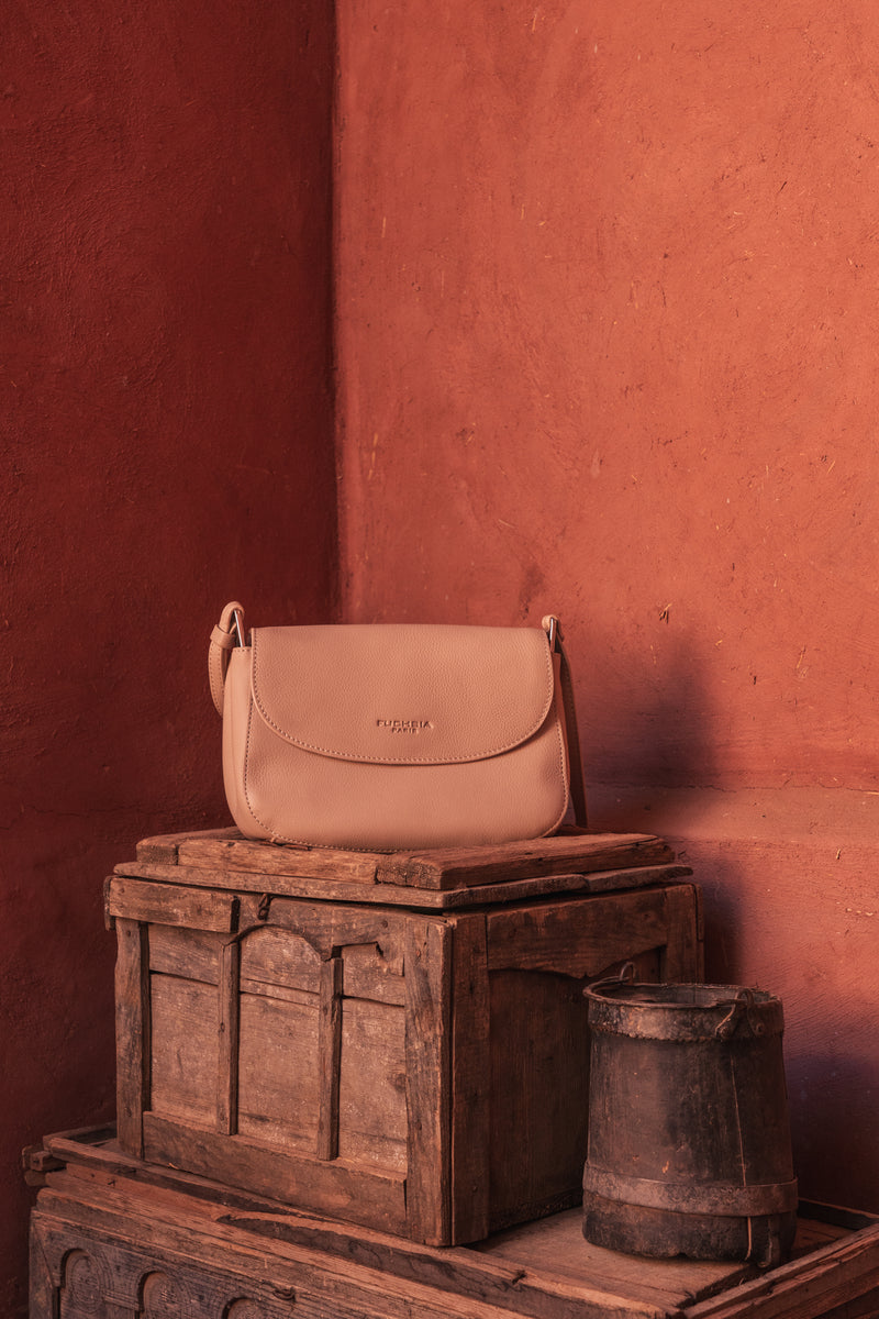 Sac porté travers - Laure Beige