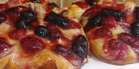 Fruit Danish - Mixed Berry!  Singles