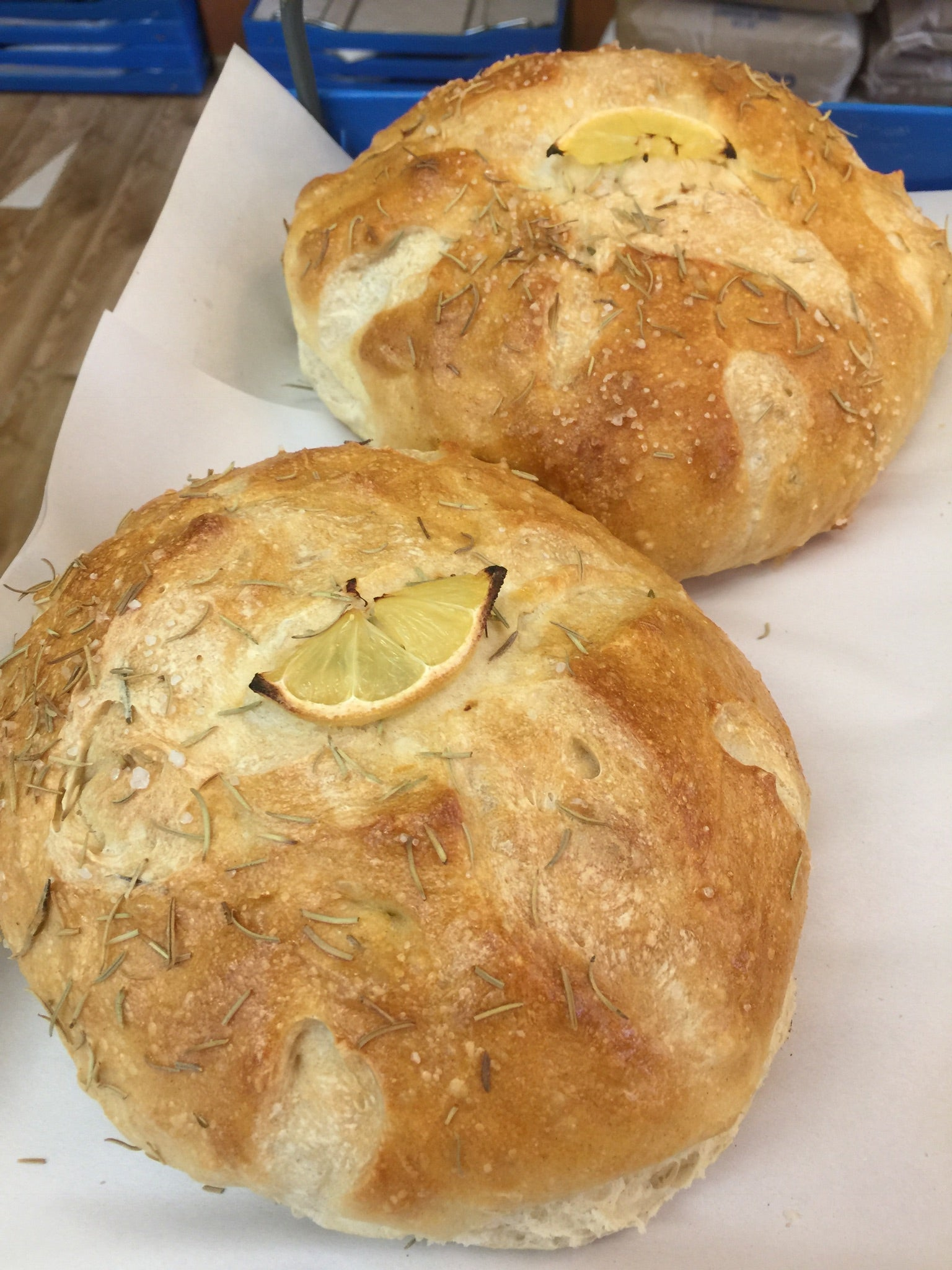 Lemon Rosemary Sourdough Bread