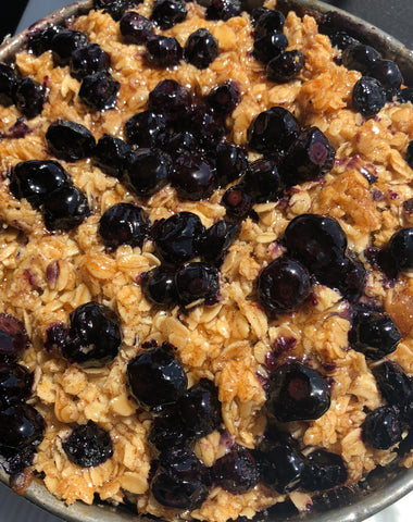 Coffee Cake - Blueberry Crumble! Serves 6 - 8.