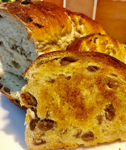 Buttermilk Raisin Bread