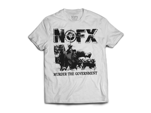 Polera Oficial NOFX - Murder the Government