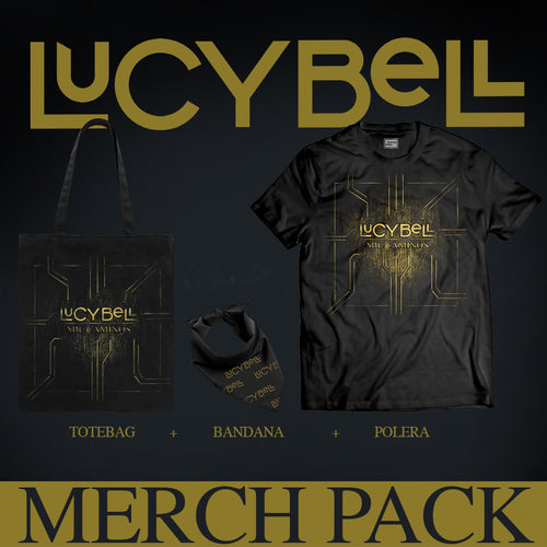 Merch Pack Oficial Lucybell Mil Caminos