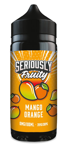 Doozy Vape - Seriously Fruity - 100ml - Mango Orange