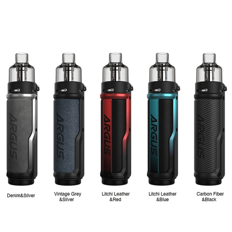 Voopoo Argus X Mod Pod Kit [Litchi Leather / Red]