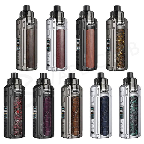 Lost Vape Ursa Quest Multi Pod Kit [Black / Ukiran Leather]