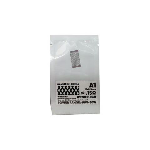 Wotofo Profile RDA Strips - 10 Pack [0.15ohm, Chill]