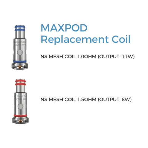 Freemax Maxpod Coils - 5 Pack [1.0ohm]